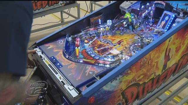 New Jersey is home to one of the last few pinball machine