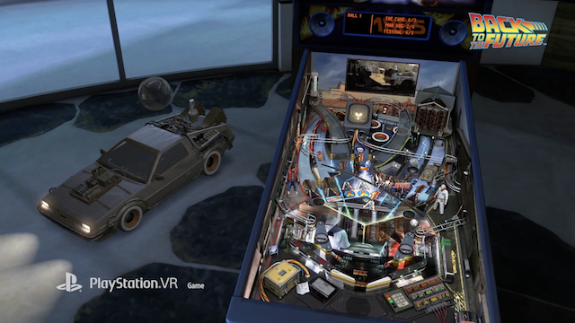 PlayStation VR Gets Launch Trailer For PINBALL FX2 VR - UNIVERSAL