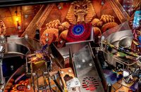 Iron Maiden Legacy of the Beast Pinball Machine - rear play field image