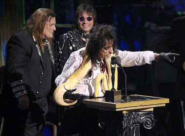 Alice Cooper and Dennis Dunaway Dedicate Rock & Roll Hall of Fame's Pinball Exhibit