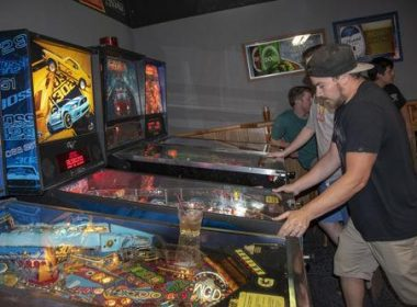Old school game brings new school pinheads to Sandy's