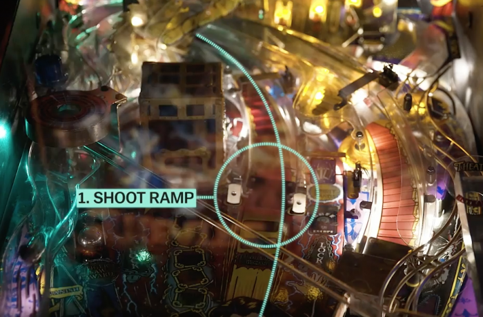 In this Vox video, pinball legend Roger Sharpe explains that playing the game isn't random and shares how players can manipulate the balls to their advantage.