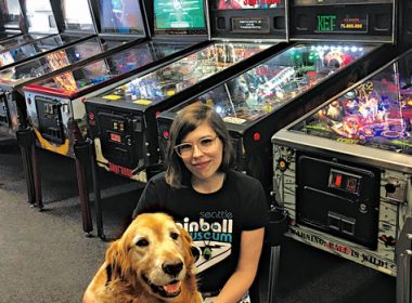 Meghann Crafton's cool job at Seattle Pinball Museum