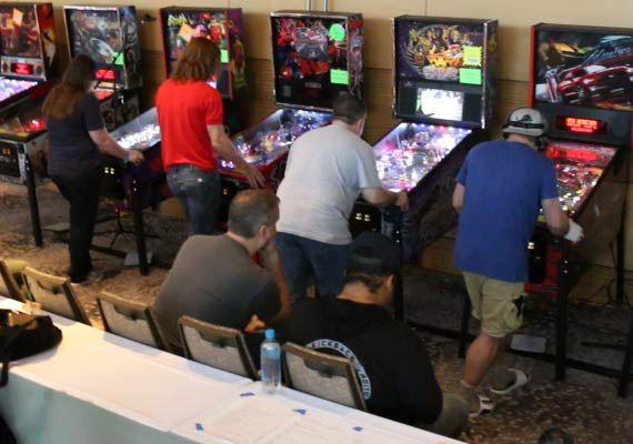 Wheeling Pinball Expo event photo