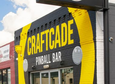 Craftcade Pinball Bar, Ft. Worth, Texas - photo by Susie Geissler