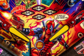 Stern Deadpool Pinball Playfield closeup for Evolution of Pinball article