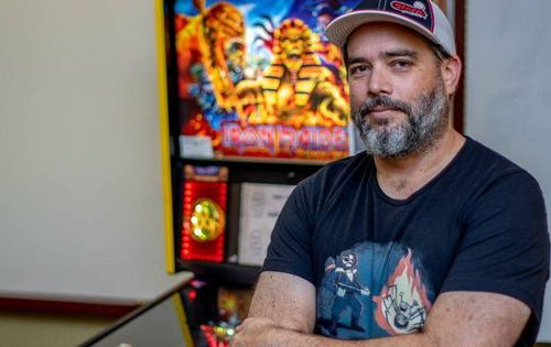 """Competitive pinball has really captured the attention of both the young, and young at heart,"""" says Zach Sharpe, currently the world No. 7 ranked player"""