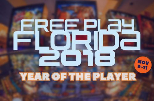 Florida's largest arcade and pinball expo, Free Play Florida, is back this November for three days of retro gaming fun.