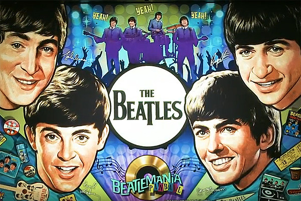 A limited-edition Beatles pinball machine was unveiled in October 2018, with reports suggesting it could be the most expensive table ever.