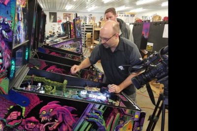 "Wisconsin-based ""spooky"" pinball scares up business all over the world"