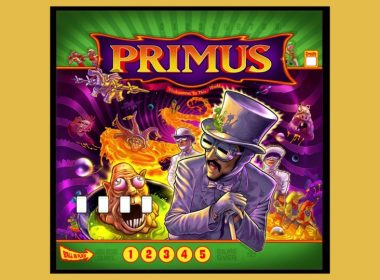 Primus Details Limited Edition Custom Pinball Machine created after teaming with Stern Pinball, to be sold in a limited edition of 100.