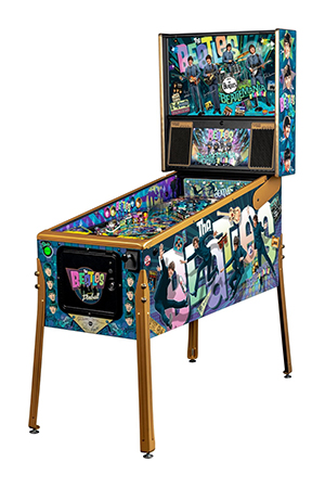 Pinballmania for The Beatles - UK's Brunswick Centre, Russell Square, London, has three-week pop-up store featuring Stern's limited edition pinball machines