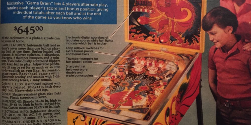 From Pong to pinball: What holiday shoppers were hunting for in 1975