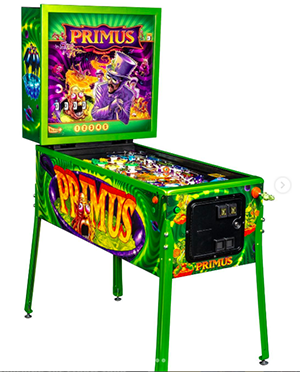 Primus, an American rock band, is the subject of Stern's latest pinball.