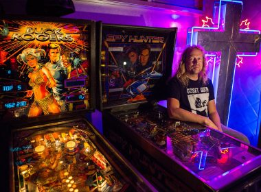 It's game on at the clink of a quarter at The Machine Shop arcade in Langley which has about 70 pinball and video games at the ready.