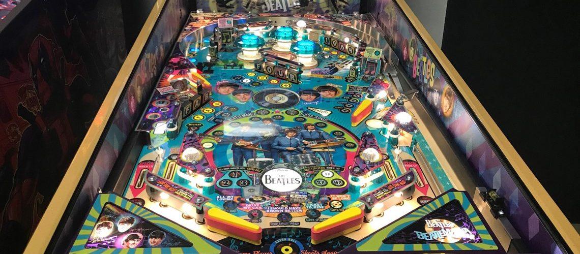 Beatles Pinball player view