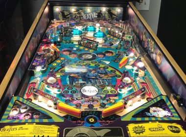 Beatles Pinball player view