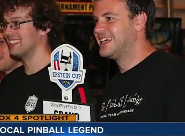 Local meteorologist ranked 4th in the world for pinball