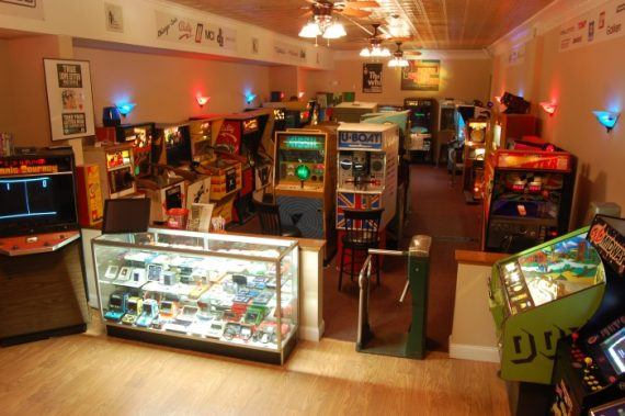 Retro Arcade Museum in Beacon