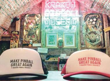 Krakow's pinball and bagel museums - Kevin Pilley plays pinball to relive his youth and the magical feeling of the silver ball of the game.