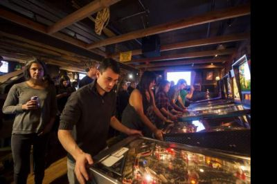 Pinball tournament packs Beehive Coffeehouse during Farewell Week | TribLIVE