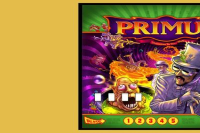 Primus Details Limited Edition Custom Pinball Machine