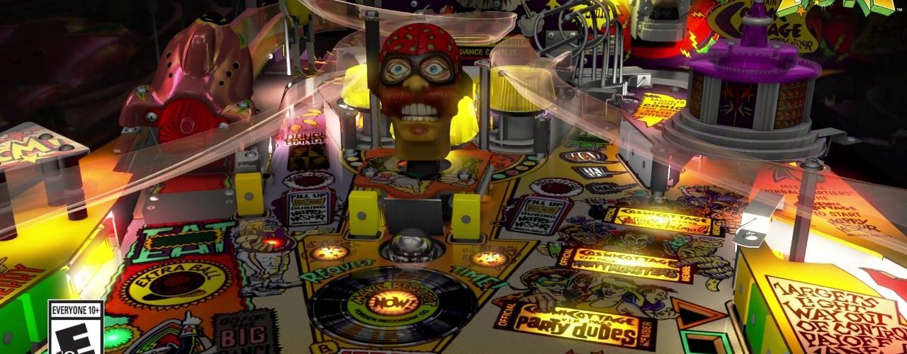 Pinball FX3 - Williams Pinball: Volume 2 Launch Trailer featuring The Party Zone, Black Rose, and Attack from Mars