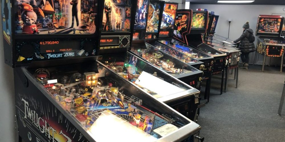 [Chicago] Rare Horror Pinball Machines Line Galloping Ghost's New Arcade! The first location opened on a Friday the 13th in 2010 with 130 arcade games that were saved from the brink of destruction and restored for all to enjoy.