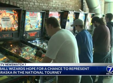 Pinball 'wizards' compete for chance to represent Nebraska in national tournament as best players rack up the highest scores to see who goes on to Las Vegas