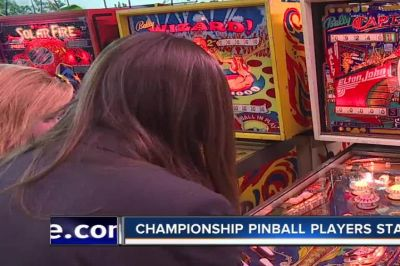 Lady pinball players start girls league, compete in championship
