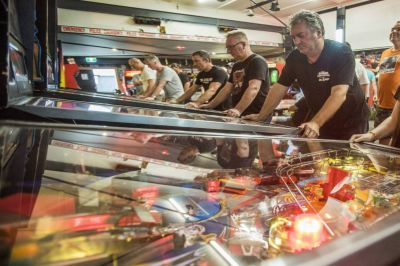 Danni Peck reigns at National Pinball Championships