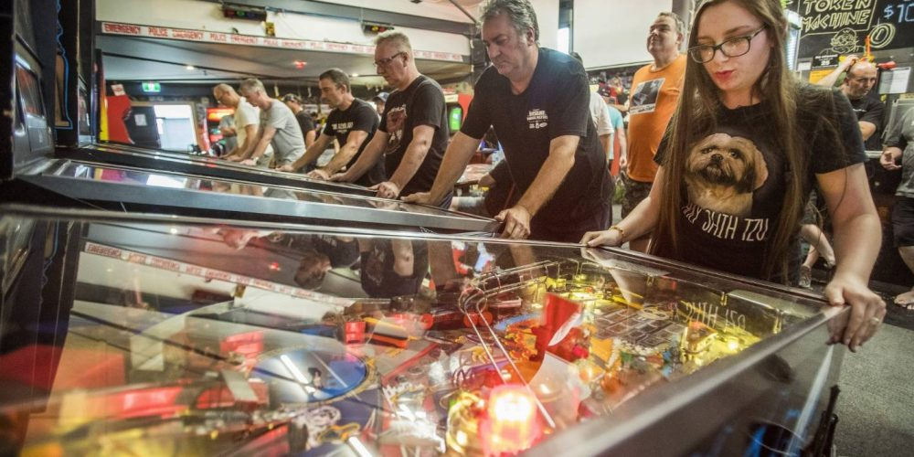 Danni Peck reigns at National Pinball Championships. She is the best female pinball player in the world. Having 120 pinball machines in her lounge helped.