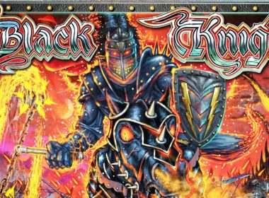 Black Knight Sword of Rage Pinball Backglass