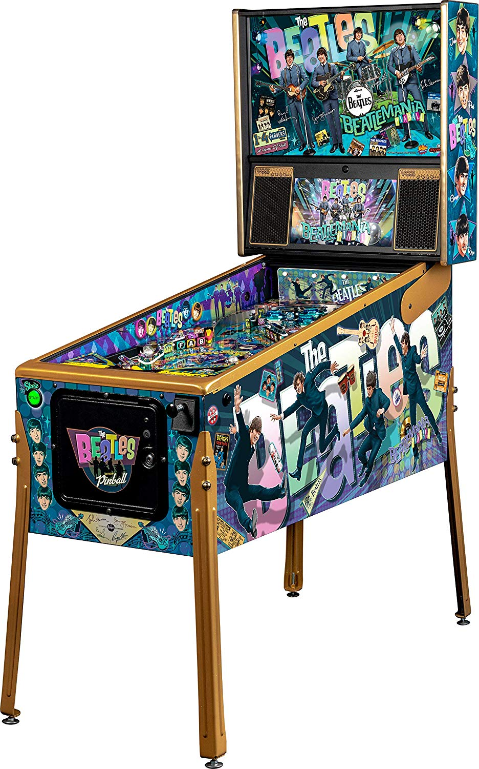 Stern The Beatles Gold Pinball Machine