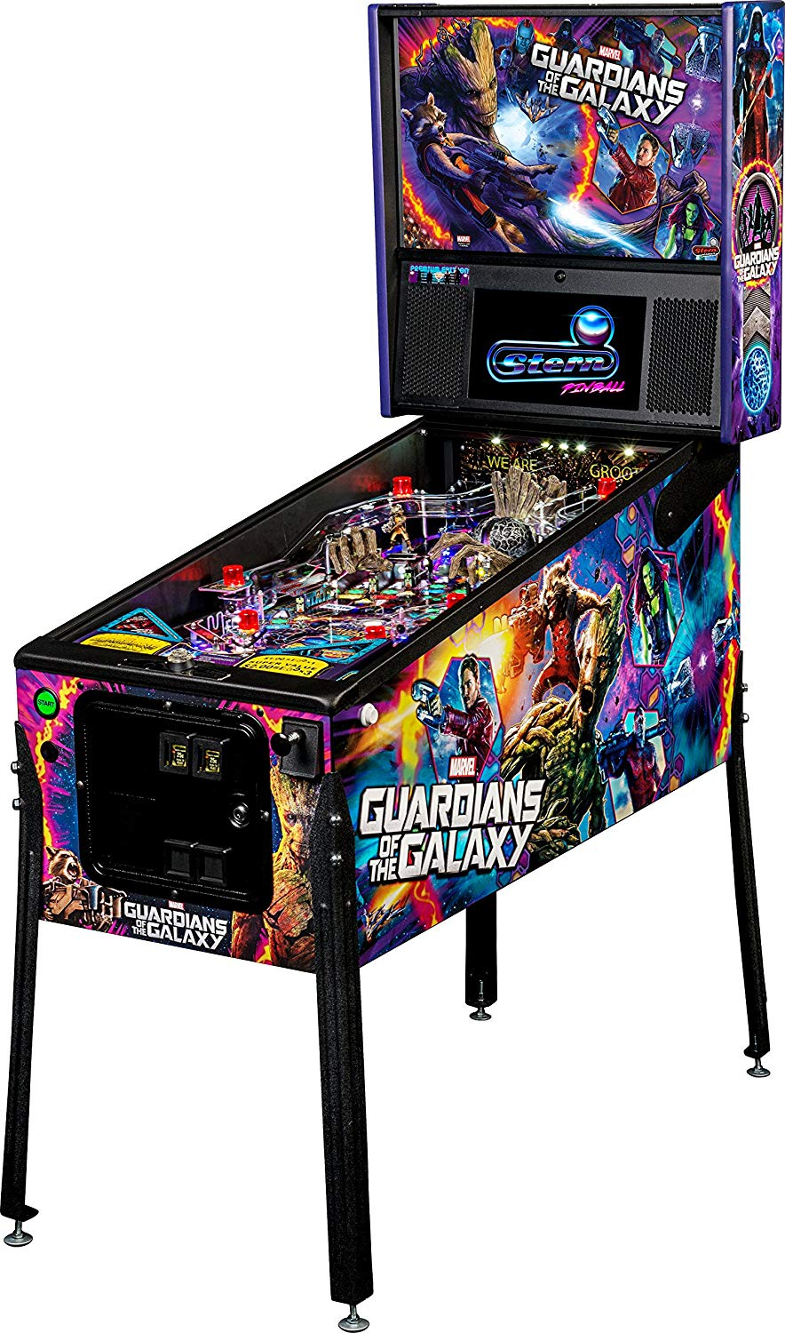 Stern Guardians of the Galaxy Premium Pinball Machine