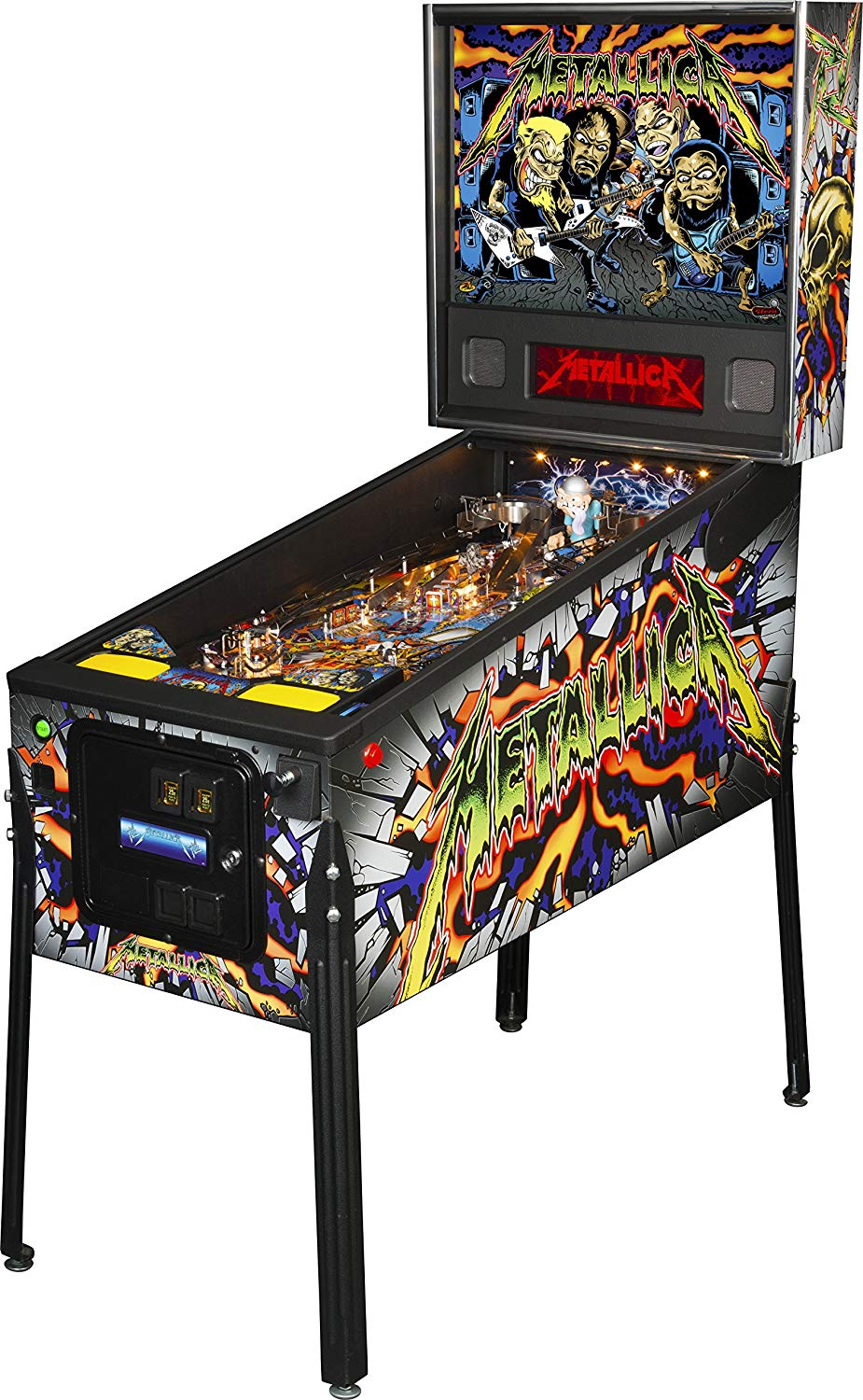 Stern Pinball Metallica Pro LED Pinball Machine