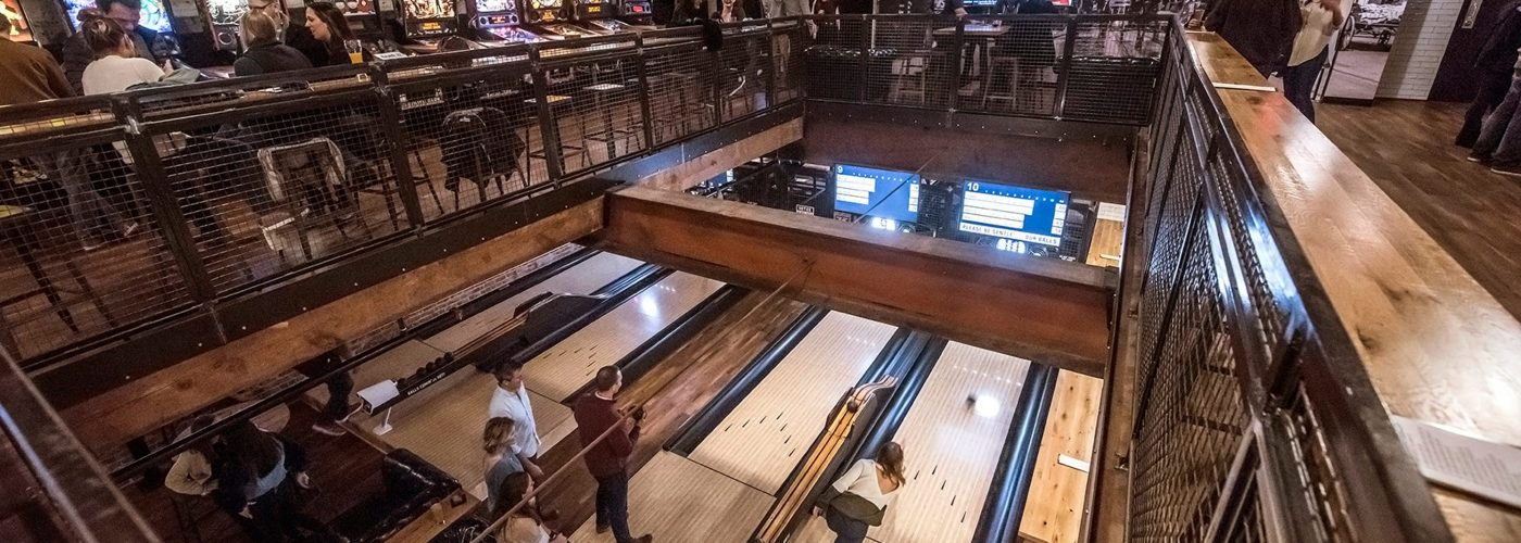 A pinball, bocce, ping pong, duckpin bowling bar is coming to Mass Ave