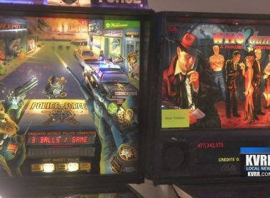 Fargo Pinball Tournament games include Police Force and Who Dunnit