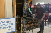 Community playing unlimited pinball to help raise money for dementia awareness