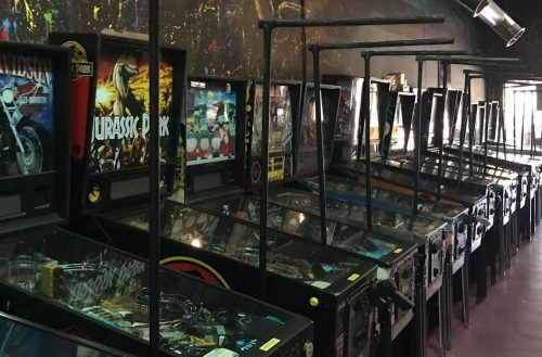 The next business to open back up in the 'Burg is the Pinball Arcade and Museum in the Grand Central District. The arcade can only operate at 50%