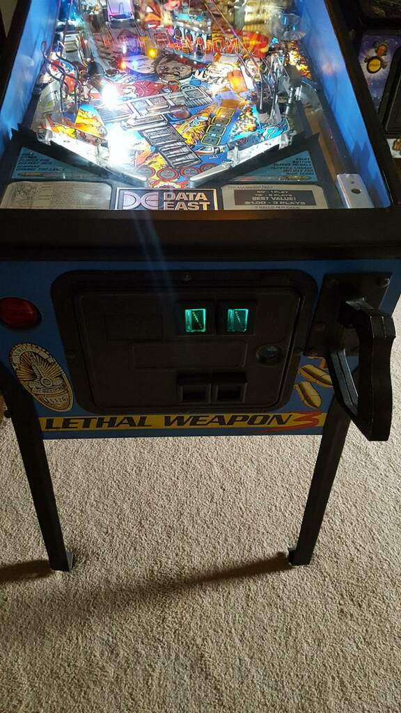 Lethal Weapon 3 Pinball Front Cabinet