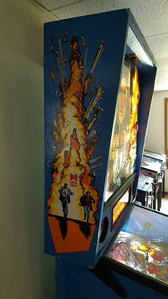 Lethal Weapon 3 Pinball Left Backbox