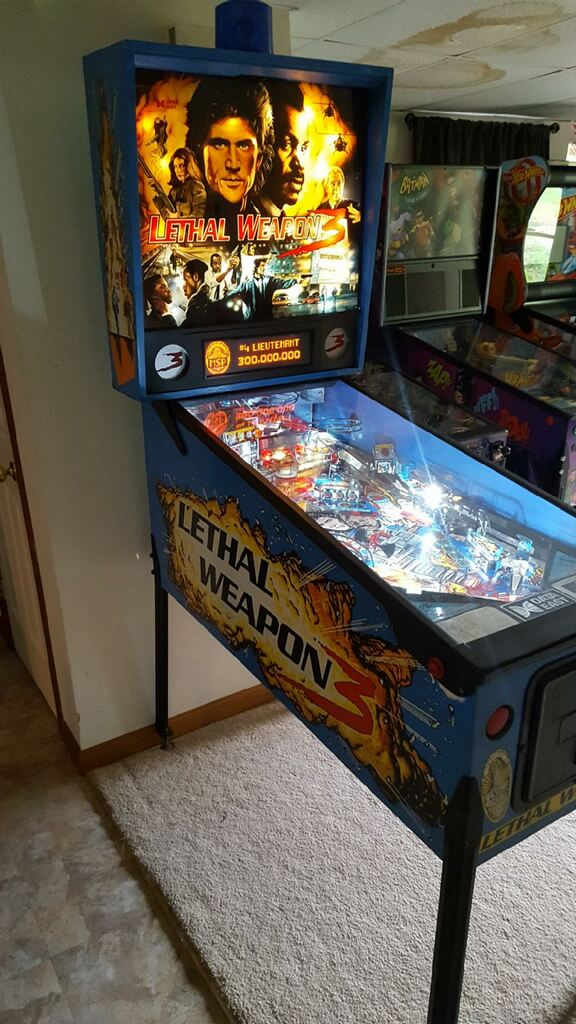 Lethal Weapon 3 Pinball Left Side