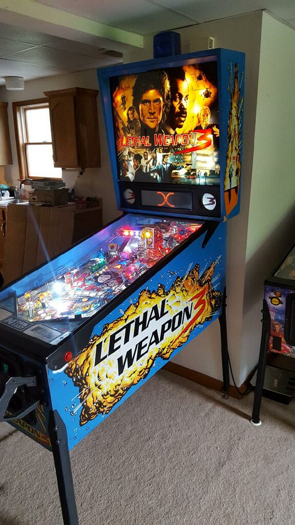 Lethal Weapon 3 Pinball Right Side