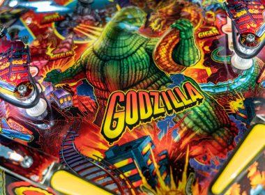 Stern Pinball Godzilla Playfield close-up