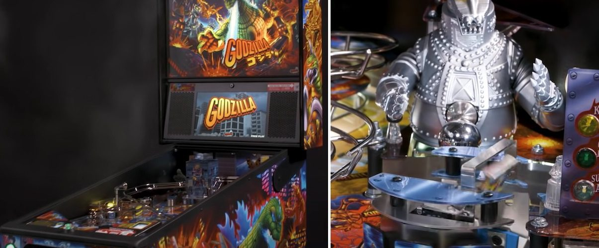 These Godzilla pinball machines not only bring the iconic movie monster to your local arcade, they also feature an all-new interactive QR system.