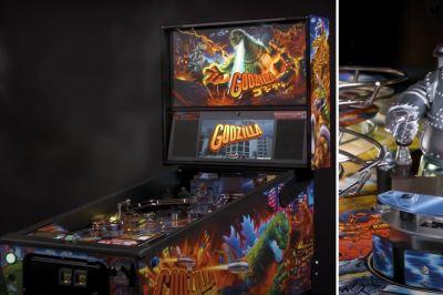 New GODZILLA Pinball Games Offer Interactive Play Options - Nerdist