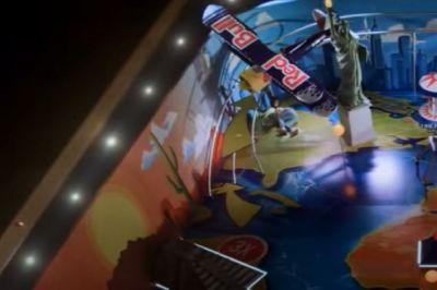 World's Largest Pinball Machine Uses a Parkour Champ as a Ball - Nerdist