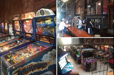 Downtown Evansville is now home to a new bar and arcade